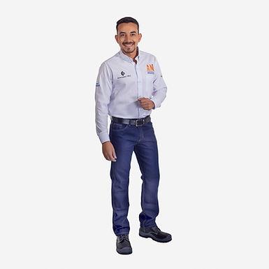 Pantalón en Jean 14 Onz. Hombre