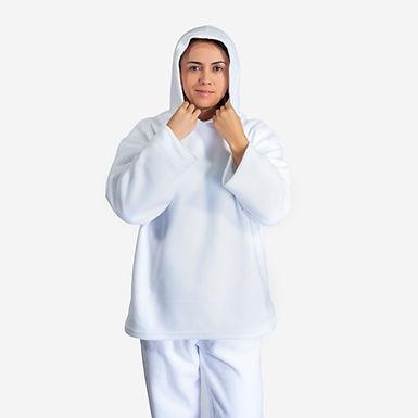Uniforme térmico de 2 piezas en fleece polar con capota