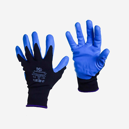 Guantes Nylon - Nitrilo Azul G40. Marca Kleenguard