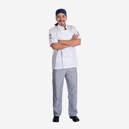 Chef camisa en gabardina