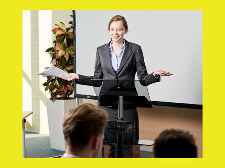 Como falar em público e dar seu recado: dicas para o empreendedor