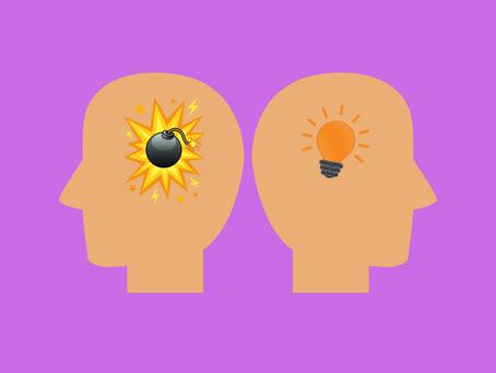 Como reagir a situações desagradáveis – cuidado com pensamentos sabotadores