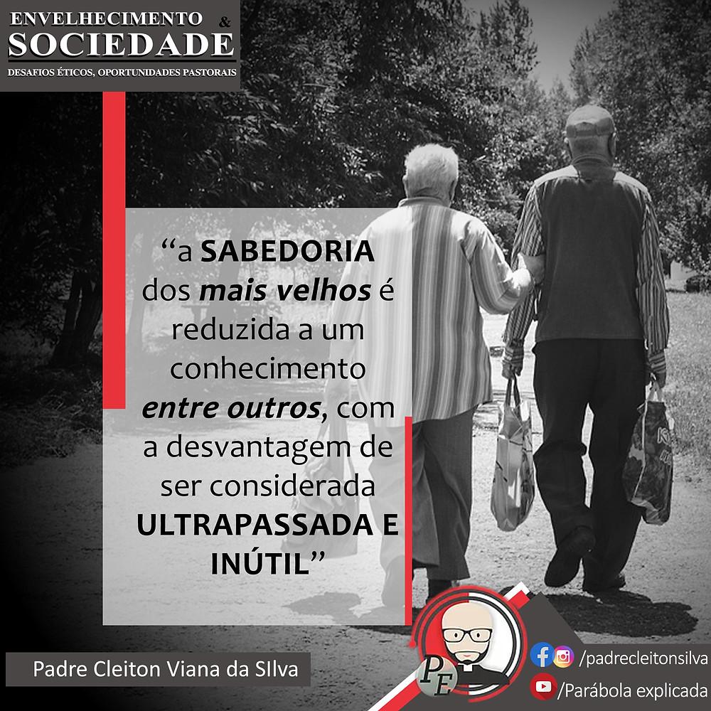 A sabedoria dos mais velhos é reduzida a um conhecimento entre outros, com a desvantagem de ser considerada ultrapassada e inúteil.