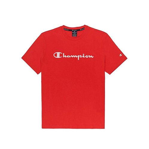 CHAMPION - TSHIRT RED CLASSIC