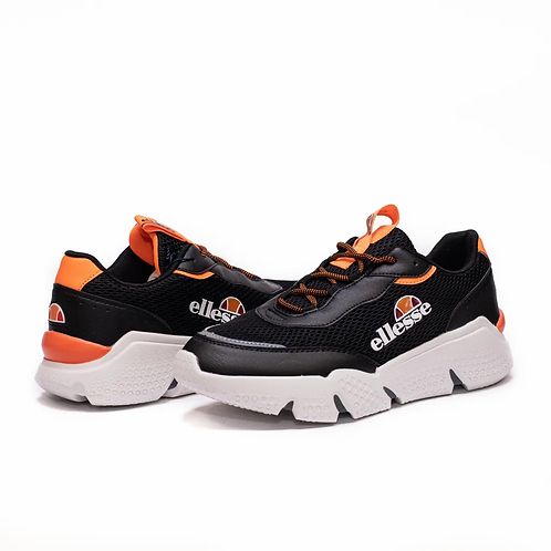 Ellesse Curt Black Orange Fluo