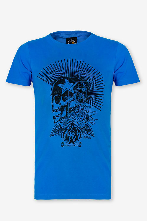 SCORPION BAY - T-SHIRT BLUE