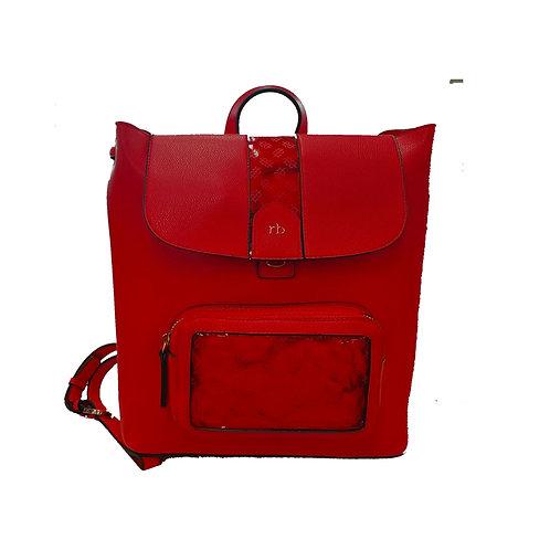 Borsa Rocco Barocco Fashion Red
