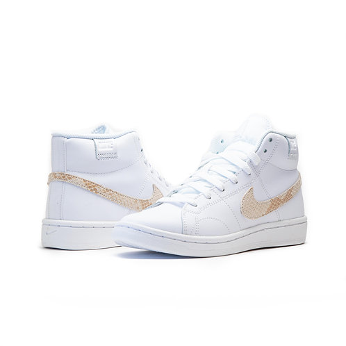Nike Court Royale 2 Mid WHITE / BEIGE / BLACK