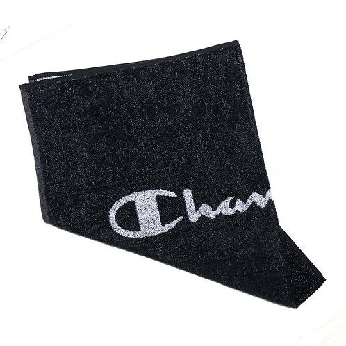 Gym Towel Champion Black Medium