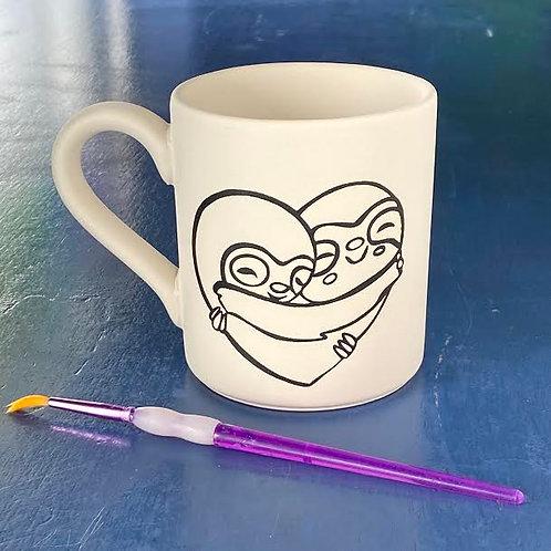 Sloth Hug Mug