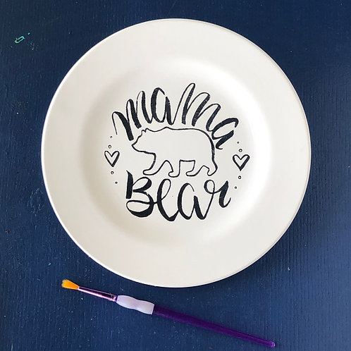 Mama Bear Plate