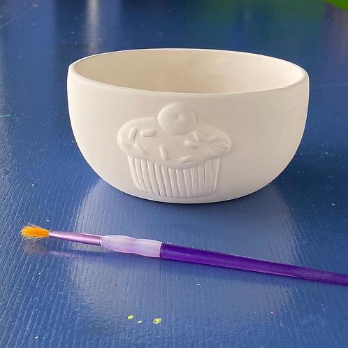 Cupcake Party Bowl