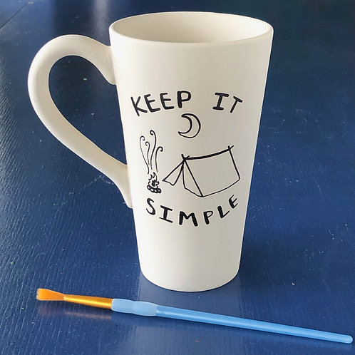 Keep It Simple tall/cone mug