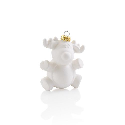Reindeer Bulb Ornament