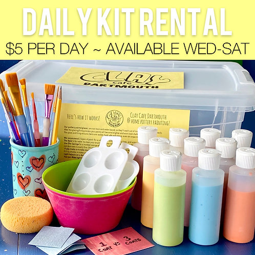 $5 per day - Add extra dates for a longer rental!