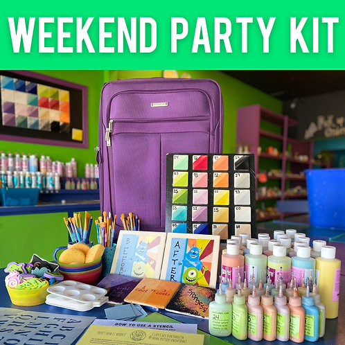 MORE SUPPLIES Great for Birthdays, large families, groups