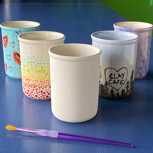 Pen Cup with Lip