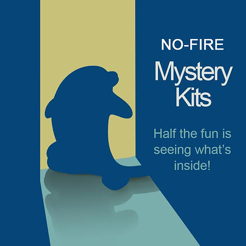 NO-FIRE Mystery Art Kit