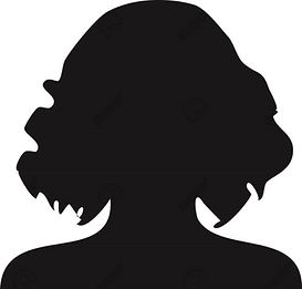 42831554-silhouette-women-with-curly-hai