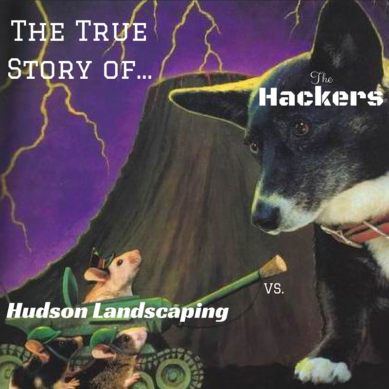 Story of Hudson Landscaping triumphing over hackers