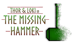 Thor and Loki in The Missing Hammer Post