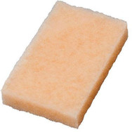 Description: No handle Aero Scrubber is a soft, non-scratching, long-lasting, reusable scrubber pad. Use with Wash Wax ALL to help remove bugs from leading edges or use with Wash Wax ALL (Degreaser) or Belly Wash on tough cleaning jobs such as aircraft bellies, engine areas, wheels and tires. TIP: Spray Wash Wax ALL on bugs and let soak for 10-15 min. then respray and wipe off. This will make bug removal super easy. Use on: Bug and dirt spot removal. Soft fiber that will not scratch paint.
