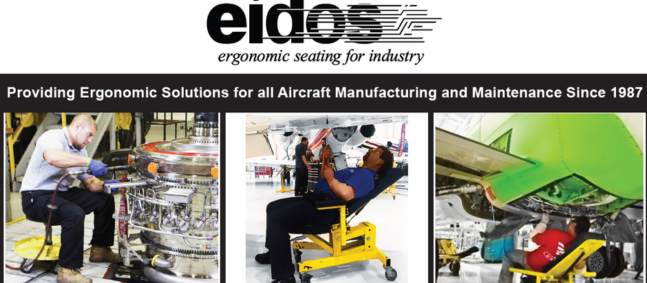 Eidos, providing ergonomic solutions for all aircraft manufacturing and maintenance since 1987