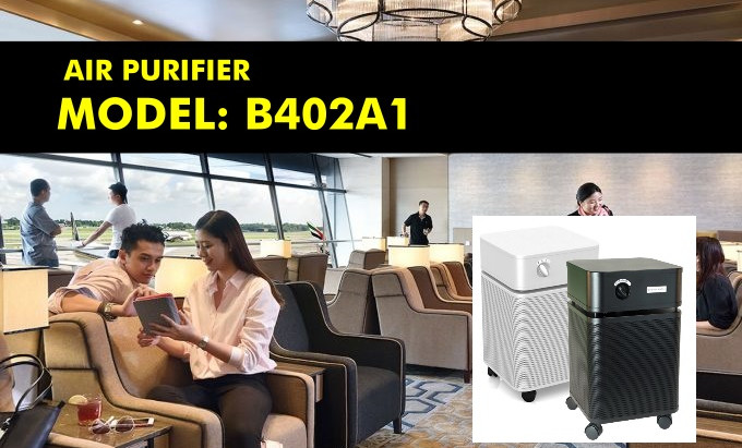 Protect your flight operations against COVID-19 with the use of a superefficient air purifier.
