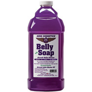 Description: Belly Soap, The quickest and easiest way to clean the dirtiest aircraft bellies and engine areas that are mixed with dried or baked on hydraulic fluids and oils. Safely removes grease, oil, hydraulic fluid, and exhaust soot. Simply spray on and wipe dry. Safe on all surfaces wet or dry. Meets Boeing Aircraft cleaning Spec. Exterior D6-17487P. For tough cleaning jobs, use with the Aero Scrubber. Use on: Engine exhaust, APU, Landing gear, Engine compartment.  Presentations:  16 oz  & 1/2 Gallon