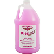 Description: Plex Wax leaves an antistatic protective coating on all aircraft windows both plastic and heated glass. Plex Wax is also safe to use on cockpit instruments and displays. Water Based, Non-corrosive, Alcohol & Ammonia Free. Meets Boeing Spec. D6-17487P & D6-7127M. Wash Wax ALL is also safe to use on aircraft windows. Use on: Windows.   Presentations: 16 oz & 1/2 Gallon