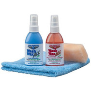 Description: 4 of our most popular products packaged to fit in your glove box. Kit includes: 4oz Wash Wax ALL, 4oz Wash Wax ALL (Degreaser), One Aero Towel and a mini Aero Scrubber.. Take with you in your next flight.