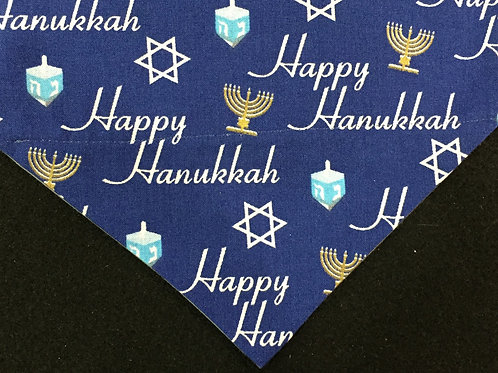 Happy Hanukkah - Blue
