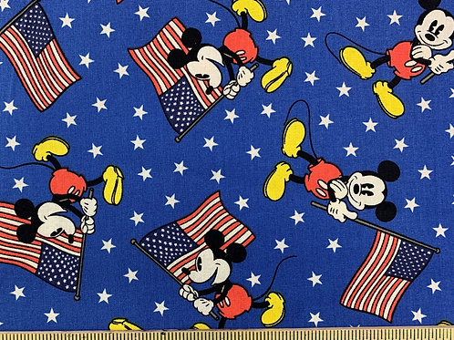Patriotic Mickey Face Mask