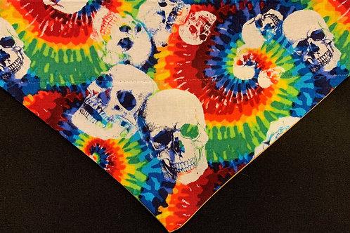 Tie Dye Skulls