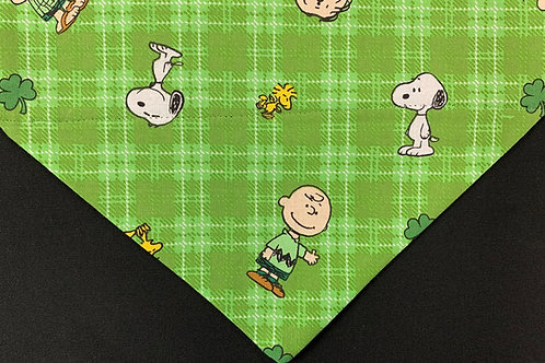 Snoopy St. Pat's Day Plaid