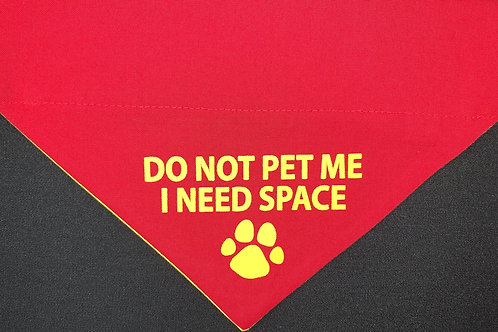 I Need Space - Red