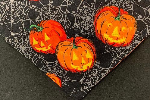 Pumpkins in the Spider Webs