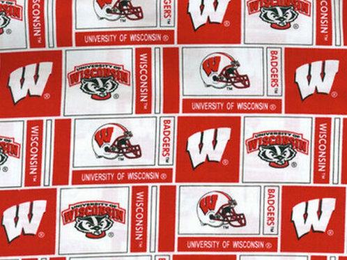 University of Wisconsin Badgers - Block