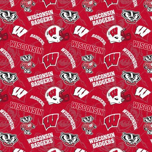 University of Wisconsin Badgers - Red