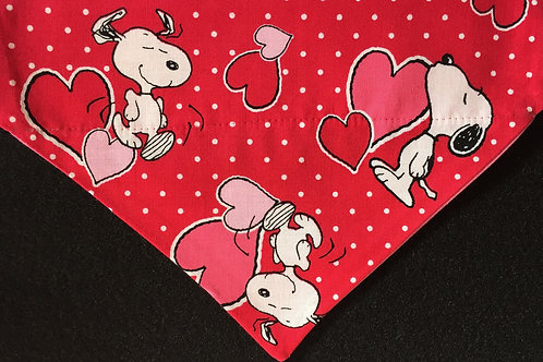 Snoopy Love - Red