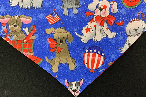 Patriotic Pups - Blue