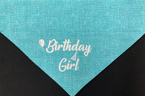 Birthday Girl - Teal