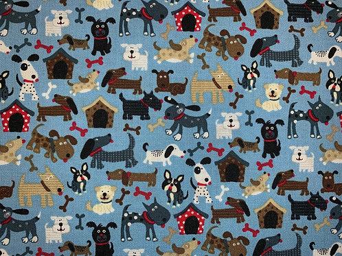 Mini Dogs - Blue