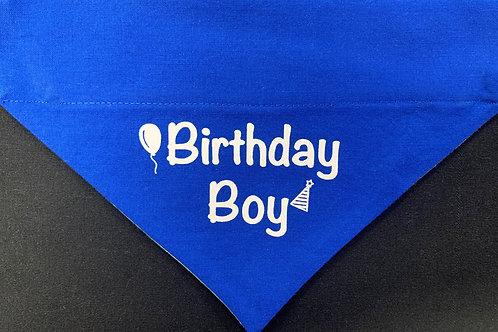 Birthday Boy - Royal Blue