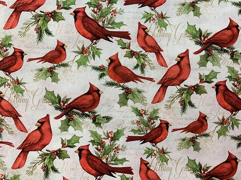 Holiday Cardinals