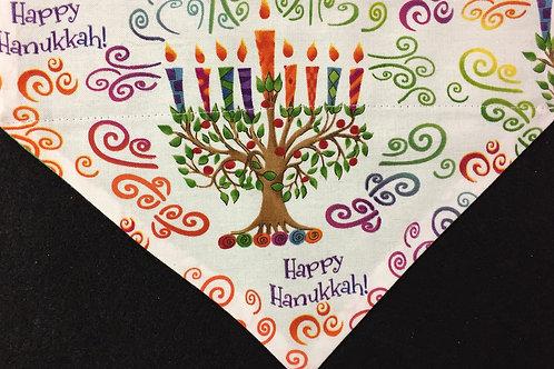 Happy Hanukkah - White