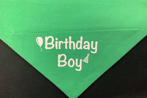 Birthday Boy - Green