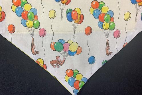 Party Balloons on White