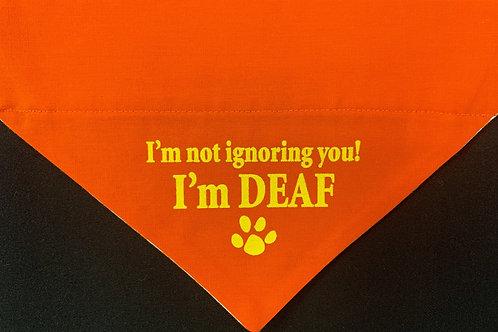 I'm Deaf - Orange