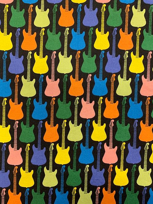 Guitars Face Mask